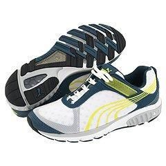 Puma Complete Tenos V White/ Stargazer/ Fluo Yellow Shoes