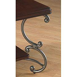 Jackson Dark Mahogany Rectangular End Table