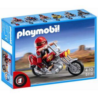 Playmobil Chopper   Achat / Vente UNIVERS MINIATURE COMPLET Playmobil