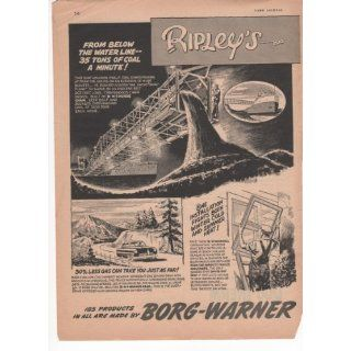Borg Warner 185 Products Ripleys Believe It Or Not 2 Page