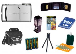 Nikon Coolpix S4 6MP Digital Camera + Bonus Kit (Refurb)