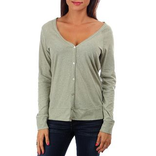 247 Frenzy 100 percent Cotton Long Sleeved Button Cardigan
