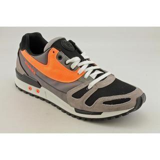Diesel Mens High Speed Absolute Leather Athletic Shoe