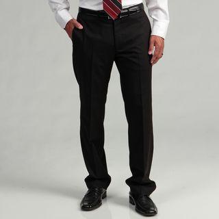 Kenneth Cole Reaction Mens Slim fit Black Flat front Suit Separate