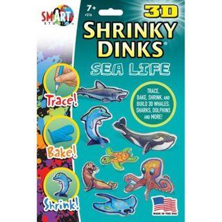 Shrinky Dinks Sea Life