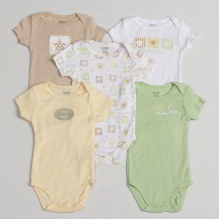 Calvin Klein Newborn Boys Onesie (Set of 5)