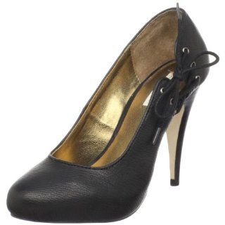 Cynthia Vincent Womens Nia Platform Pump,Black,5.5 M US Shoes