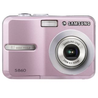 Samsung S860 Pink Digital Camera