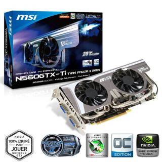 MSI GeForce GTX560 Ti Twin Frozr II 2Go GDDR5/OC   Achat / Vente CARTE