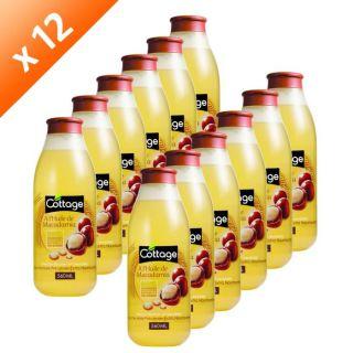 COTTAGE Douche Huile de Macadamia 560 ml x 12   Achat / Vente GEL