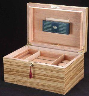 Daniel Marshall Ambiente Zebrawood Humidor   150 cigars