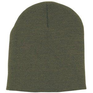 Foliage Green Beanie Knit Cap (Army, Military, Police