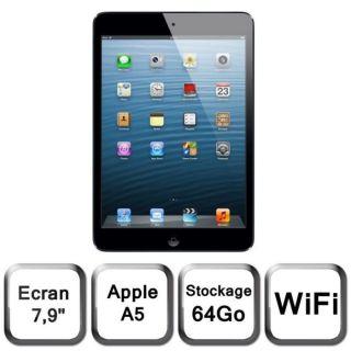 Apple iPad mini Wi Fi 64 Go noir & ardoise   Achat / Vente TABLETTE