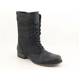 Steve Madden Womens Troopa Black Boots