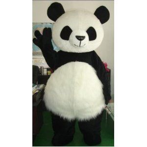 2012 big panda cartoon Character Costume Clothing