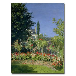 Claude Monet Flowering Garden at Sainte Adresse, 1866 Art Today $54