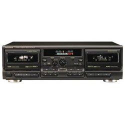 Technics RS TR575   Dual cassette deck   black