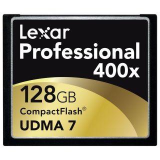 Lexar Compact Flash 128 Go 400X Professional UHS I   Achat / Vente