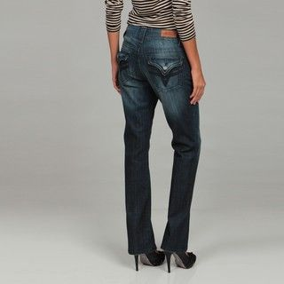 Miss Vigoss Womens Bootleg Denim Jeans
