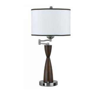 Cal Lighting LA 60006TB 1 Pineapple Hotel Lamp, Gold
