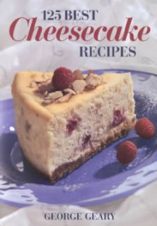 125 Best Cheesecake Recipes (Paperback)