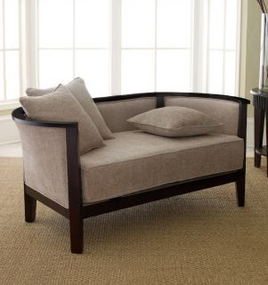 Abbyson Living Beverly Two Tone Brown Fabric Sectional Sofa Today $