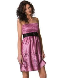 Voom Dress by Joy Han   Pink Silk Tubedress Clothing