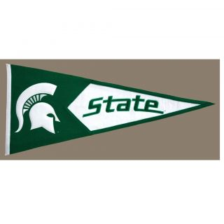 Michigan State Spartans Classic Wool Pennant