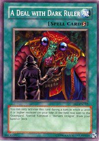 YuGiOh Dark Revelation 1 A Deal with Dark Ruler DR1 EN192