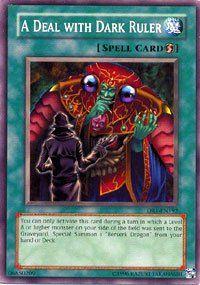 YuGiOh Dark Revelaion 1 A Deal wih Dark Ruler DR1 EN192