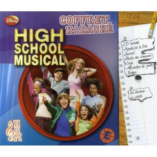Coffret karaoké ; high school musical   Achat / Vente livre