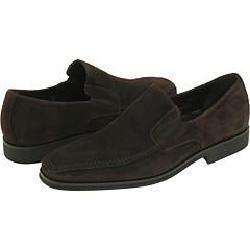 BRUNOMAGLI Raging Dark Brown Suede Loafers