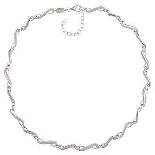 Fossil Jewelry Womens Sterling Silver Necklace