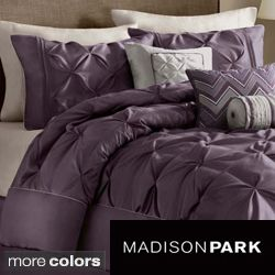 Madison Park Vivian Polyester Solid Tufted 7 piece Comforter Set Today