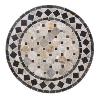 Home Styles Tan/Black Marble Tile Top Bistro Table Today $179.99 5.0