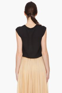 3.1 Phillip Lim Silk Muscle Tee Blouse for women