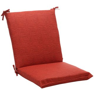 Squared Red Animal Print Outdoor Chair Cushion MSRP $57.99 Today $49