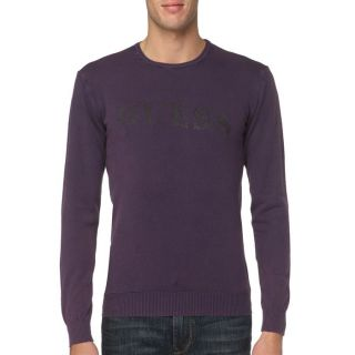 GUESS Pull Homme Violet   Achat / Vente PULL GUESS Pull Homme