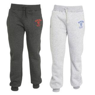 NYPD 2 Pantalons de Jogging Homme Gris chiné et anthracite   Achat