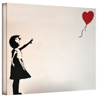 Art Wall Banksy Balloon Heart Girl Gallery wrapped Canvas Today $49