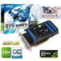 Carte graphique Nvidia GTX 650 Ti + Assassins Creed 3   GPU cadencé