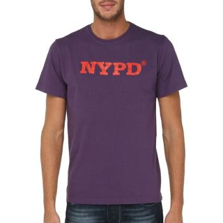 NYPD T Shirt Homme Violet   Achat / Vente T SHIRT NYPD T Shirt Homme
