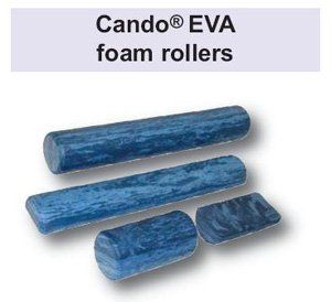 "Cando heavy duty round EVA foam roller, 6""x12"" Health"