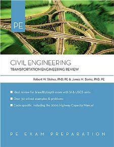 Civil Engineering Transportation Engineering Review James Banks