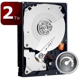WD Black 2To 64Mo 3.5   Achat / Vente DISQUE DUR INTERNE WD Black 2To