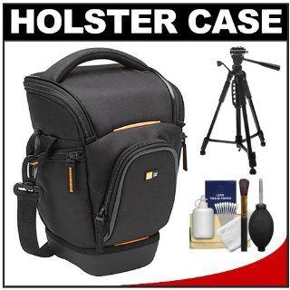 Case Logic Digital SLR Zoom Holster Camera Bag/Case (Black) (SLRC 201