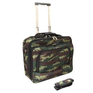 World Traveler Camouflage Rolling 17 inch Laptop Case Today $69.99