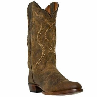 Dan Post Mens 13 Inch Albany Tan Mad Cat Leather Boots DP26682 Shoes