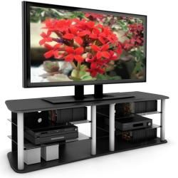 Sonax Cruise 71 inch Midnight Black TV/ Component Bench
