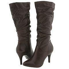 Steve Madden Tribune Dark Brown Leather Boots